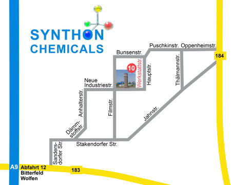 Location in Bitterfeld-Wolfen Chemical Park Areal A