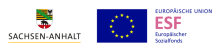 Logo Sachsen Anhalt ESF